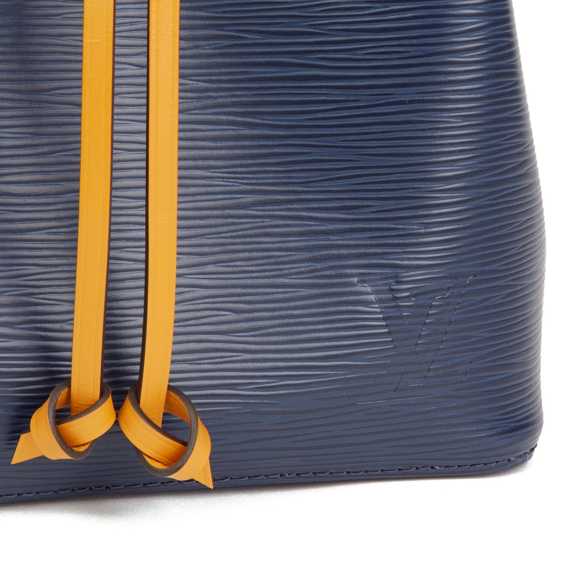 Louis Vuitton Indigo & Safran Epi Leather NéoNoé BB