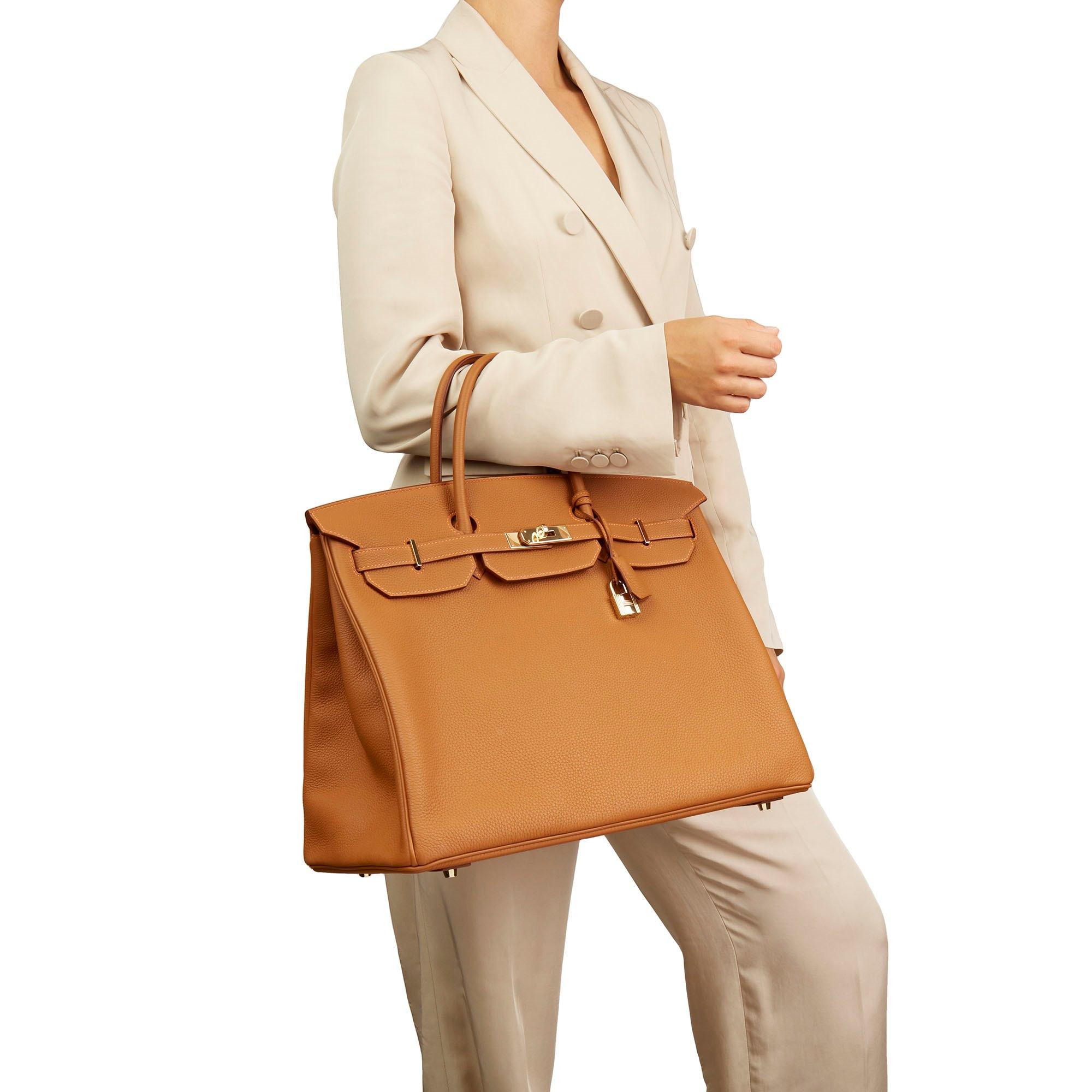Hermès Gold Togo Leather Special Order Birkin 40cm