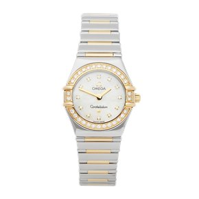 Omega Constellation Diamond Mother of Pearl Stainless Steel & Yellow Gold - 1365.75.00