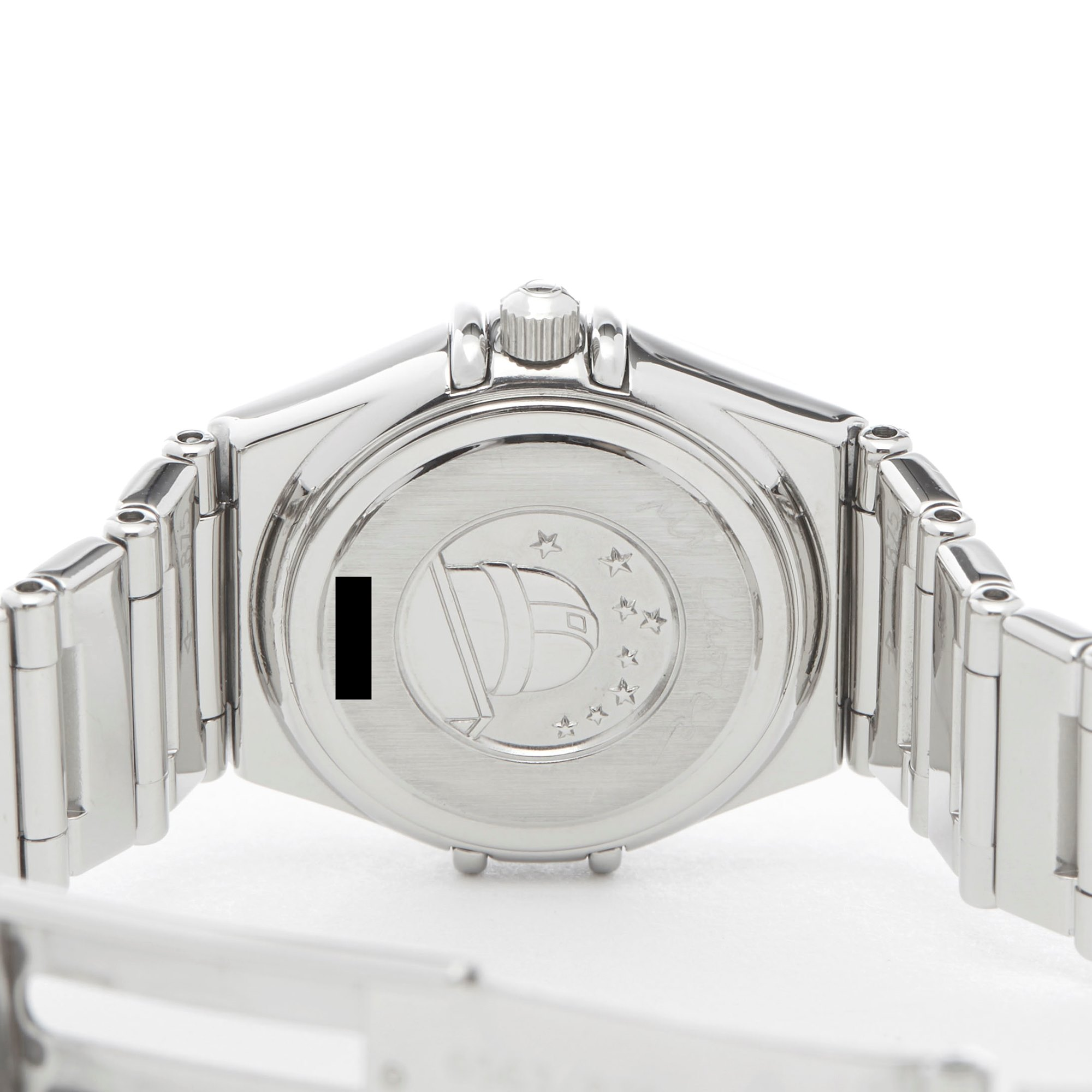 Omega Constellation Diamond Mother Of Pearl Roestvrij Staal 1465.71.00