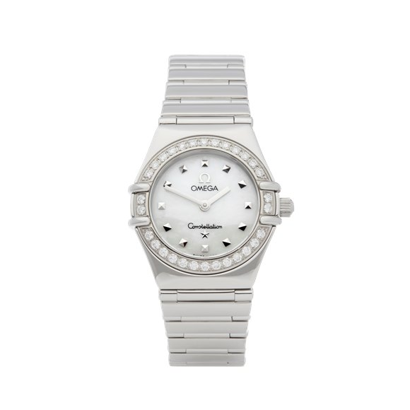 Omega Constellation Diamond Mother of Pearl Stainless Steel - 1465.71.00