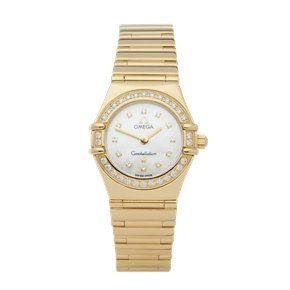 Omega Constellation Diamond Mother Of Pearl Yellow Gold - 11647500