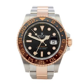 Rolex GMT-Master II Rootbeer Stainless Steel & Rose Gold - 126711CHNR