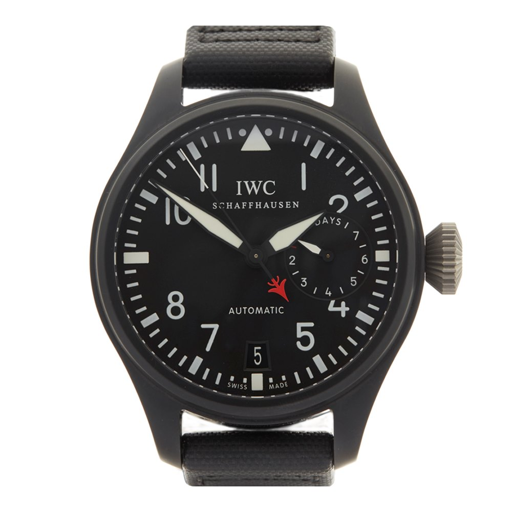 IWC Big Pilot's Top Gun Ceramic IW501901