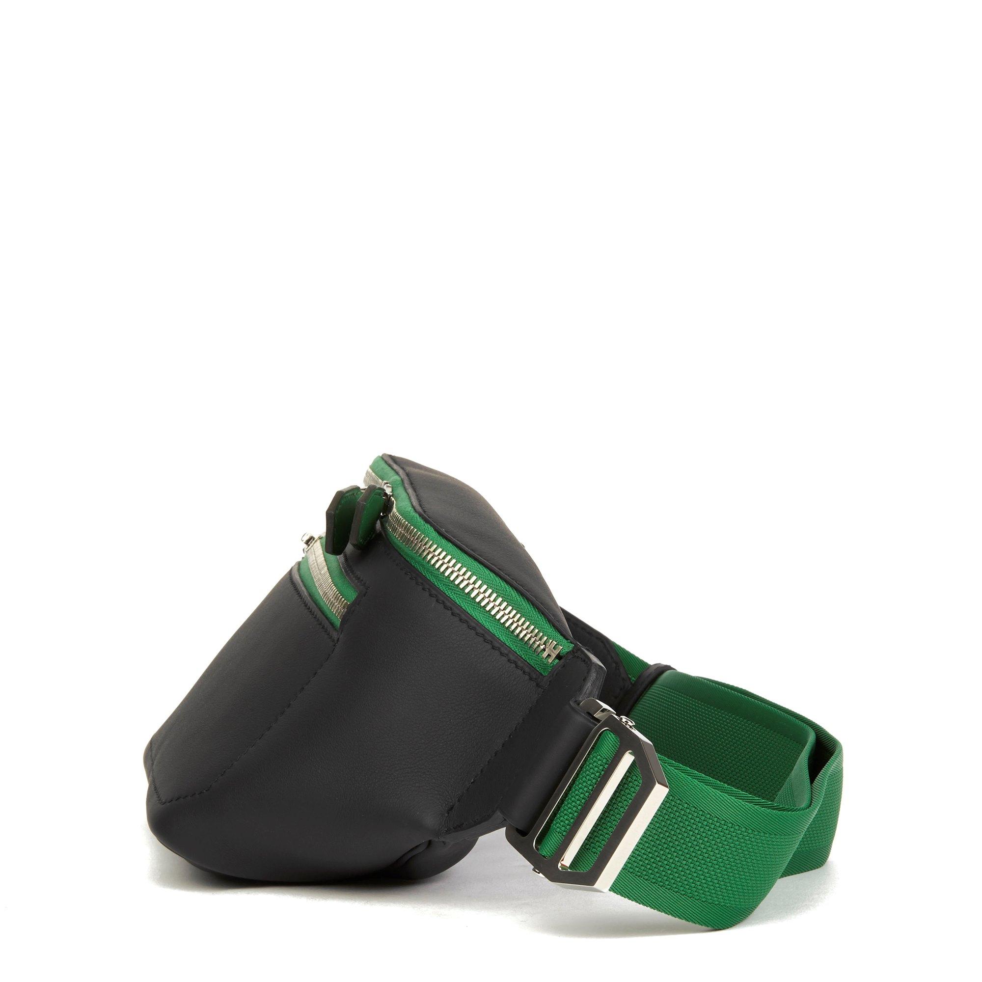 Hermès Plomb & Cactus Cristobal, Swift Leather Cityslide Cross PM