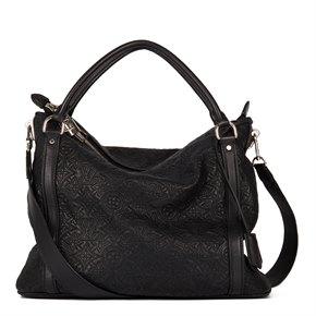 Louis Vuitton Black Monogram Antheia Leather Ixia PM
