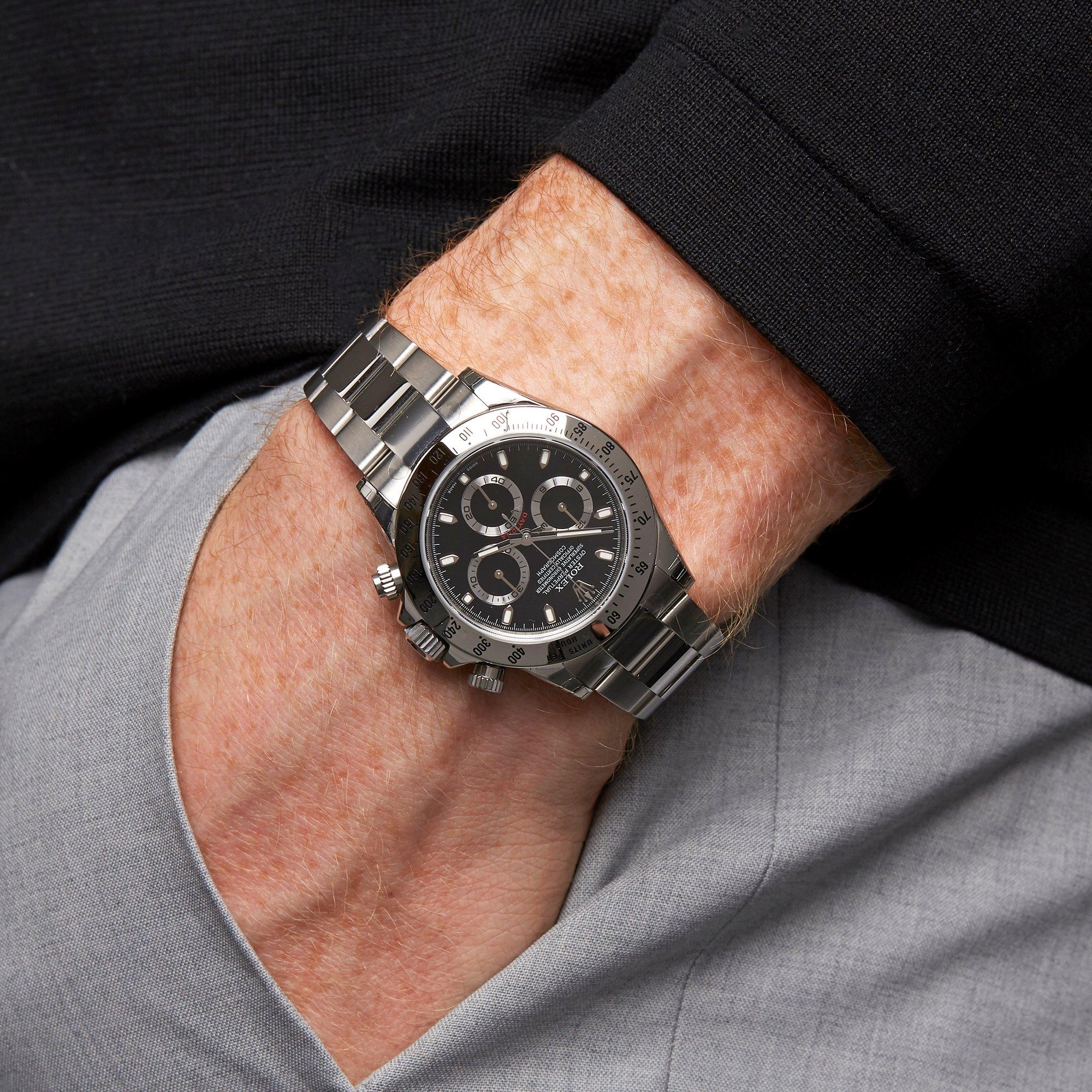 Rolex Daytona Chronograph Stickered NOS Stainless Steel 116520