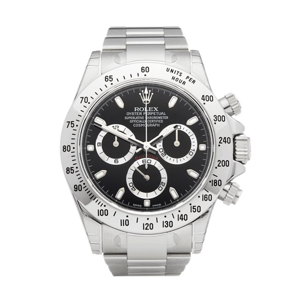 Rolex Daytona Chronograph Stickered NOS Stainless Steel - 116520
