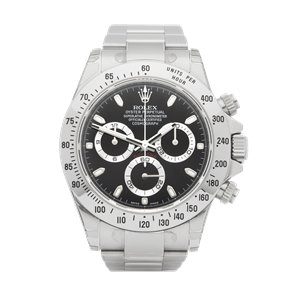 Rolex Daytona Chromalight Chronograph Stickered NOS Stainless Steel - 116520