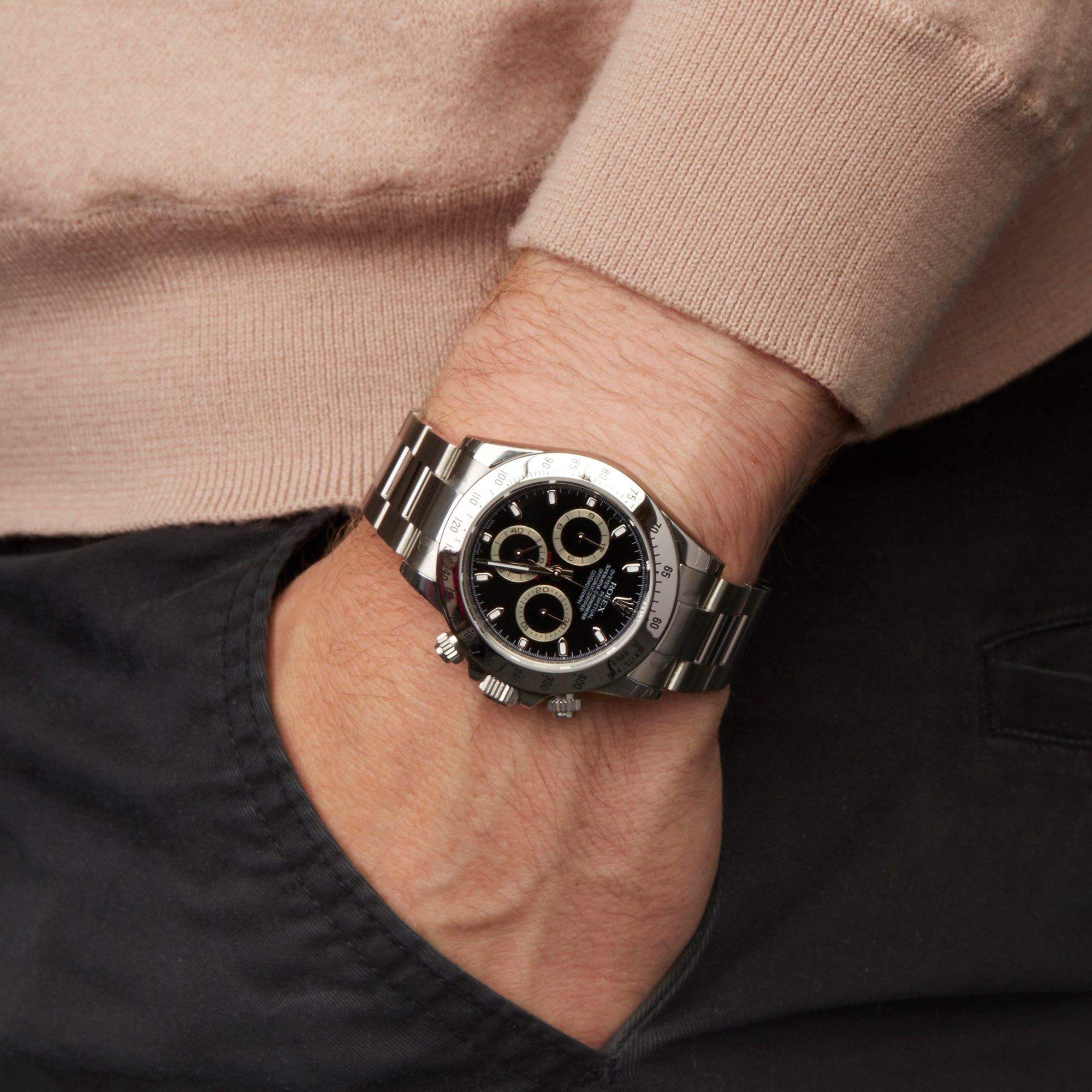 Rolex Daytona Chronograph NOS Roestvrij Staal 116520