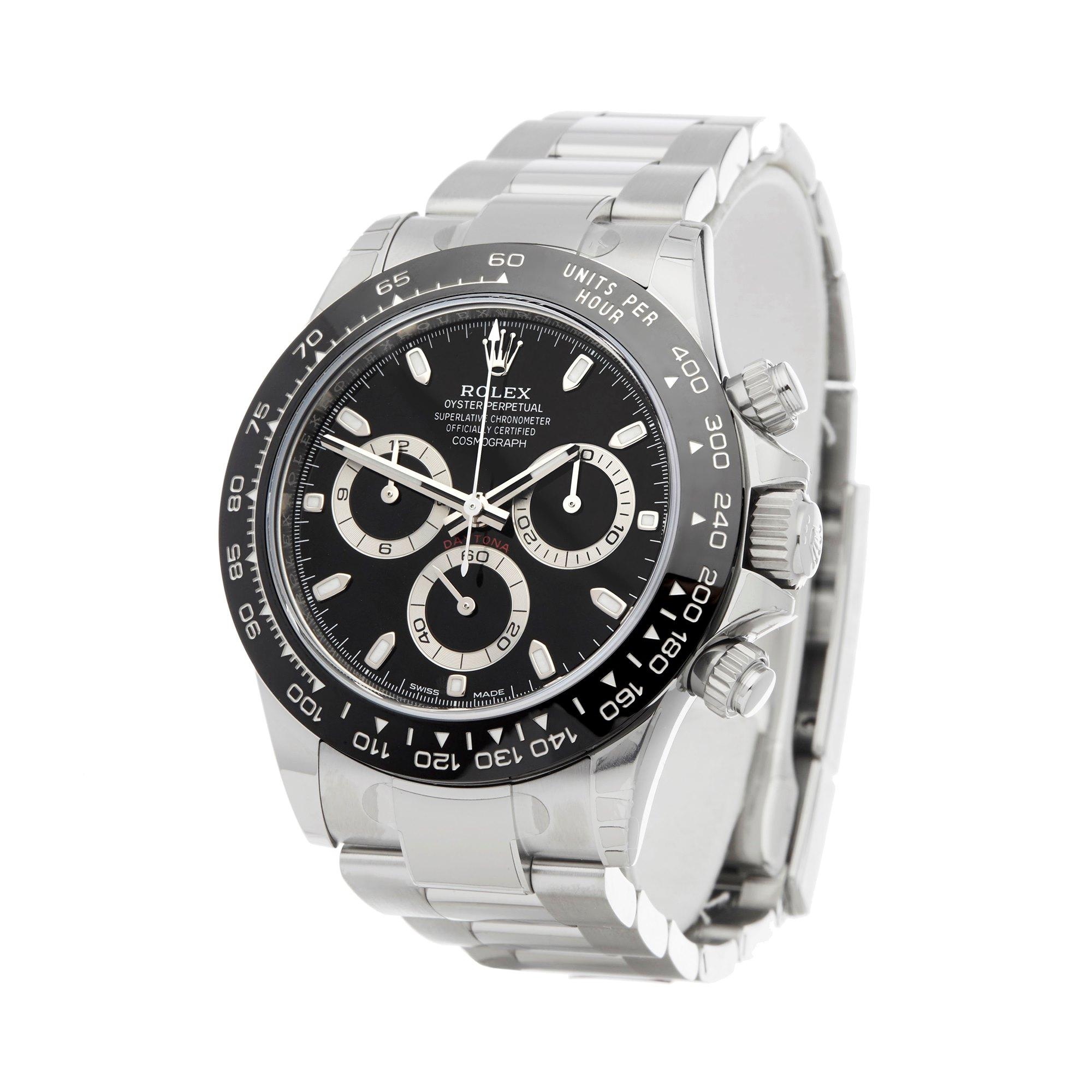 Rolex Daytona Chronograph NOS Stainless Steel 116500LN
