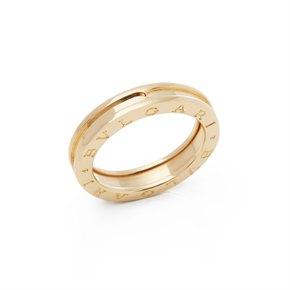 Bulgari 18k Yellow Gold B.Zero 1 Band Ring