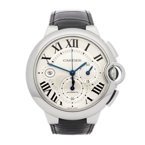 Cartier Ballon Bleu XL Chronograph Stainless Steel - W6920003 or 3109