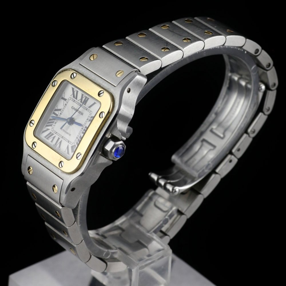 Cartier Santos Stainless Steel/18K Yellow Gold W20057C4