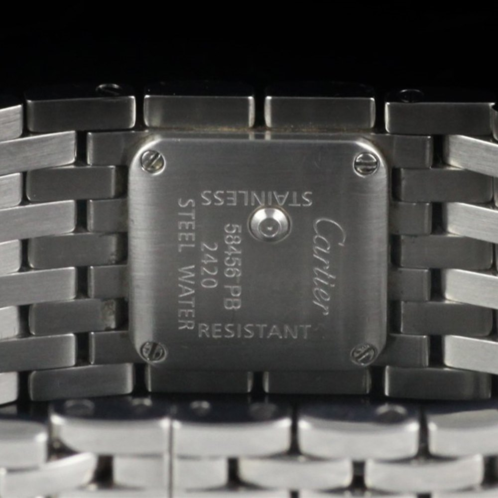 Cartier Panthère Ruban Stainless Steel W61001T9