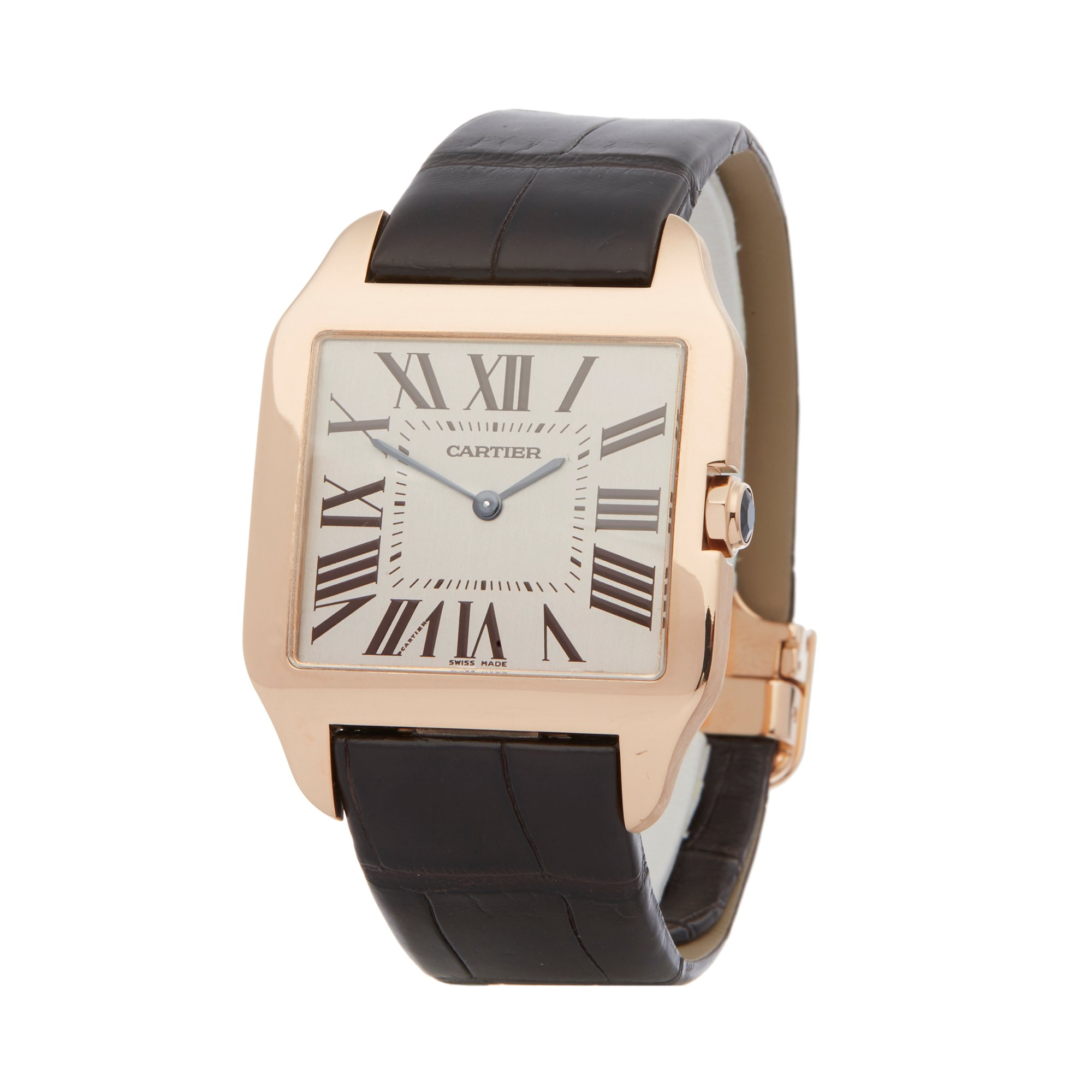 Cartier Santos Dumont 18k Rose Gold W2006951 or 2650