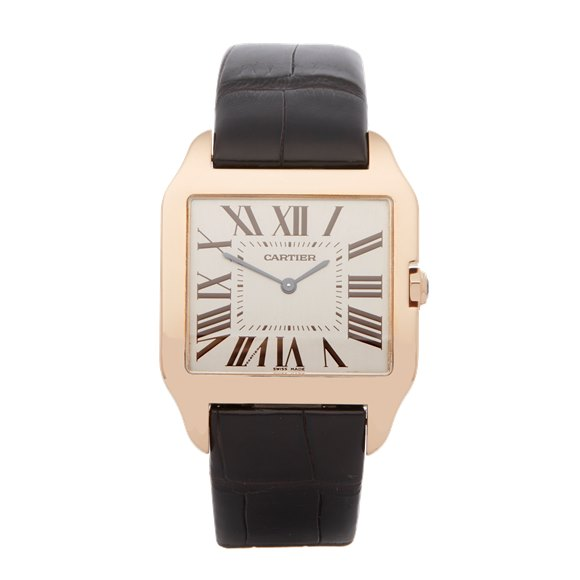 Cartier Santos Dumont 18k Rose Gold - W2006951 or 2650