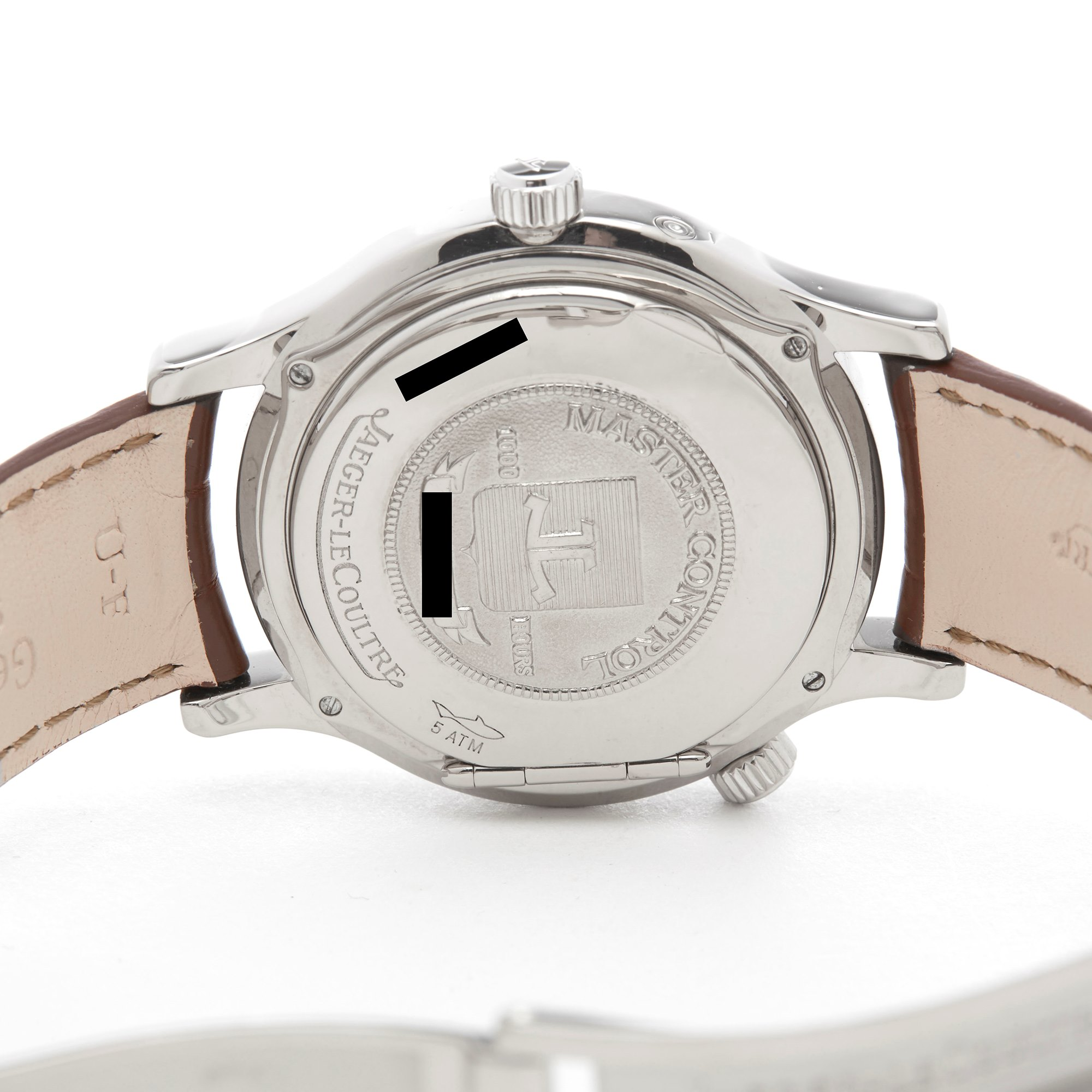 Jaeger-LeCoultre Master Geographic 18k Wit Goud 142.3.92