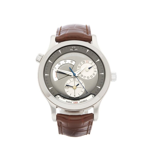 Jaeger-LeCoultre Master Geographic White Gold - 142.3.92