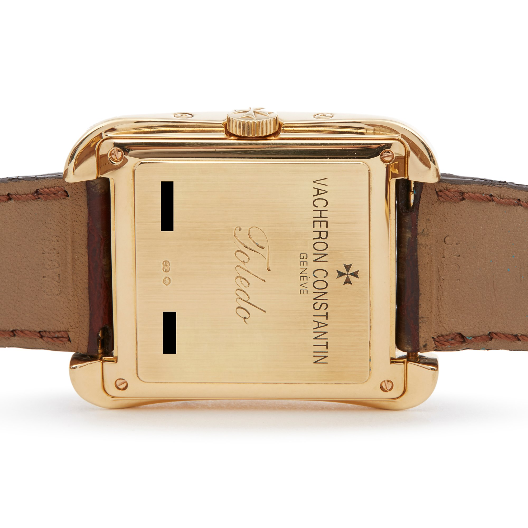 Vacheron Constantin Toledo 18K Yellow Gold 47300