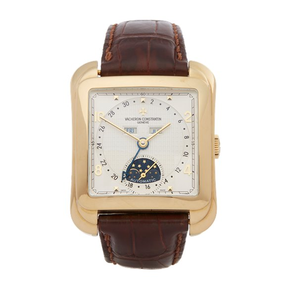 Vacheron Constantin Toledo Moonphase Calendar 18K Yellow Gold - 47300