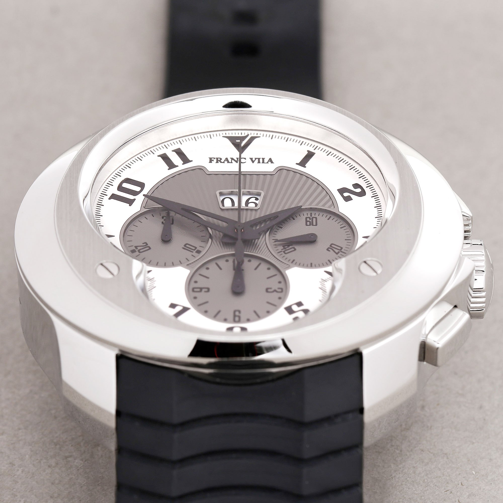 Franc Vila Dateur Chronograph Stainless Steel FVa8ch
