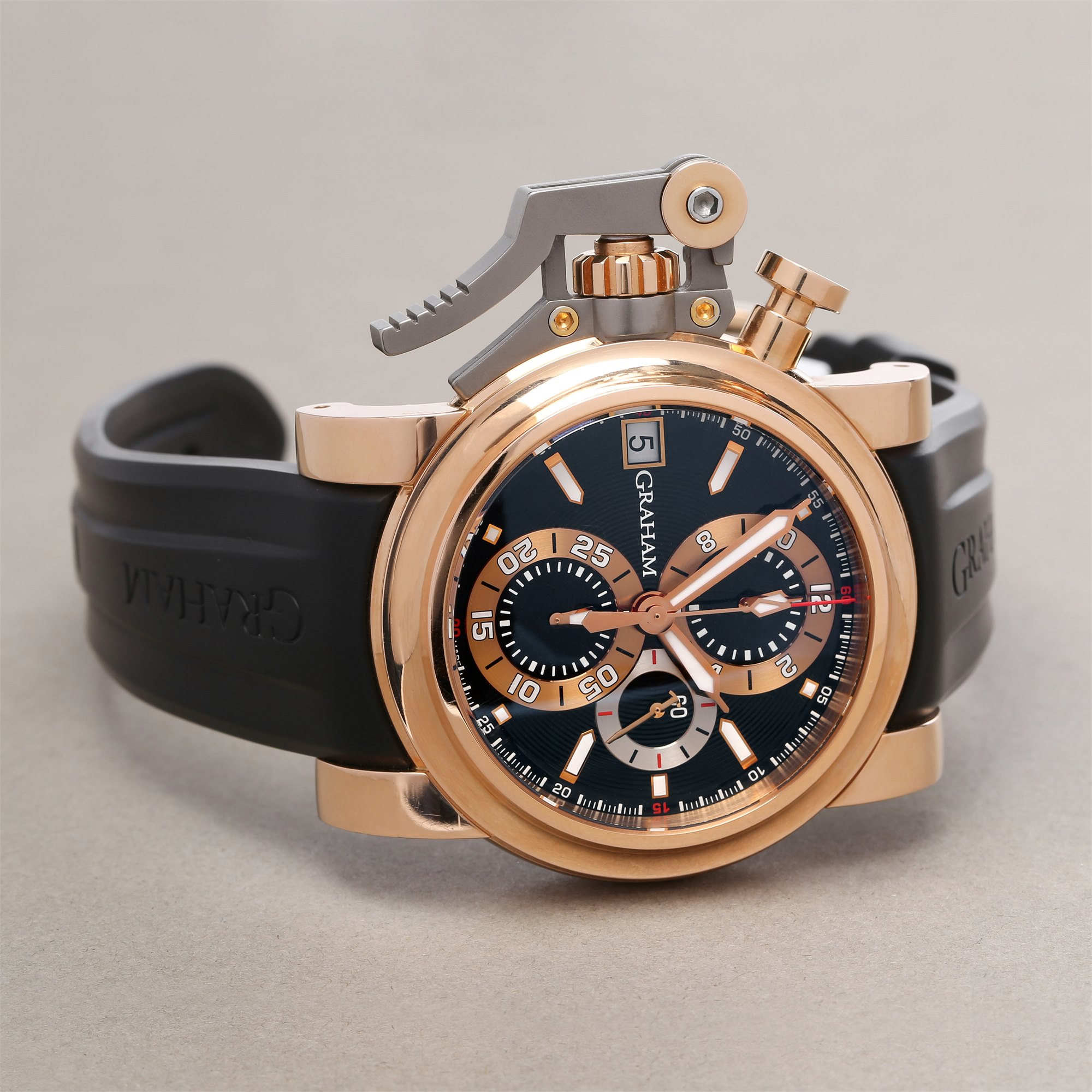 Graham Chronofighter Oversize Goldfinger Chronograph 18K Rose Goud 2OVCF.B08A.C83T