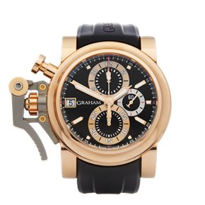 Graham Chronofighter Oversize Goldfinger Chronograph 18K Rose Gold - 2OVCF.B08A.C83T