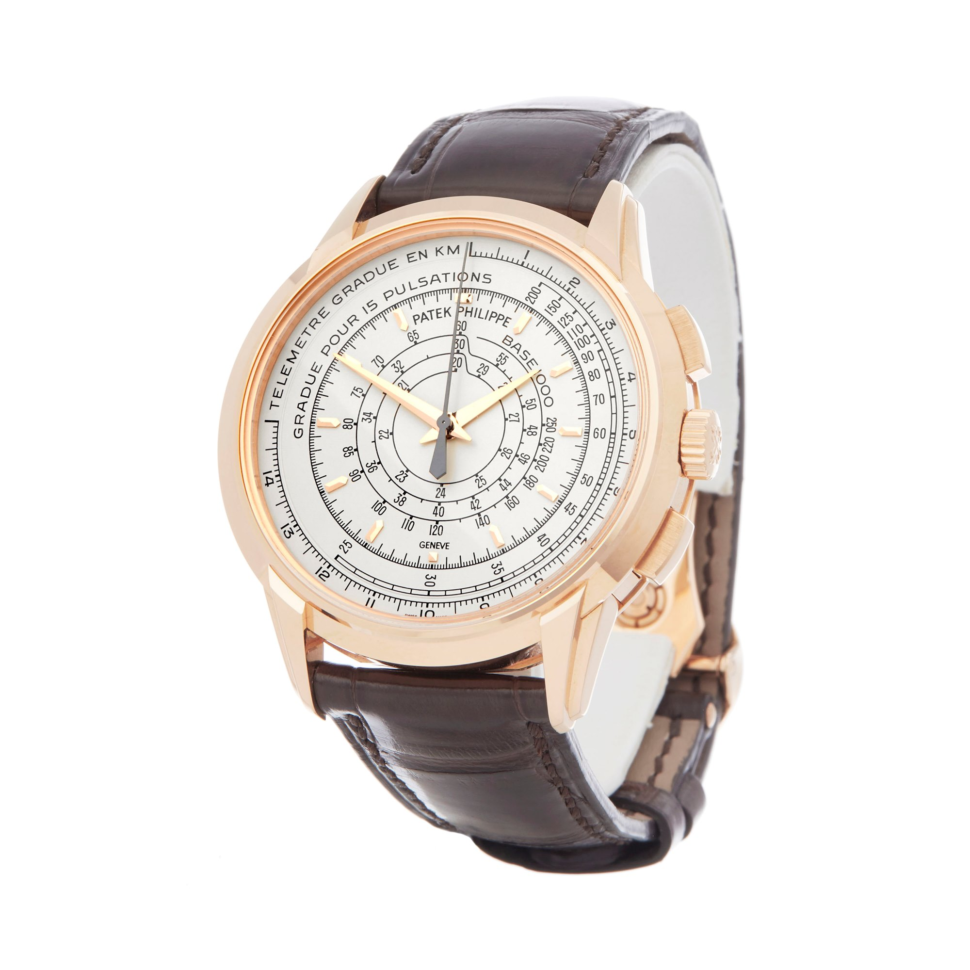 Patek Philippe Multi-Scale Chronograph Eric Clapton's 175th Anniversary Watch Rose Gold 5975R-001