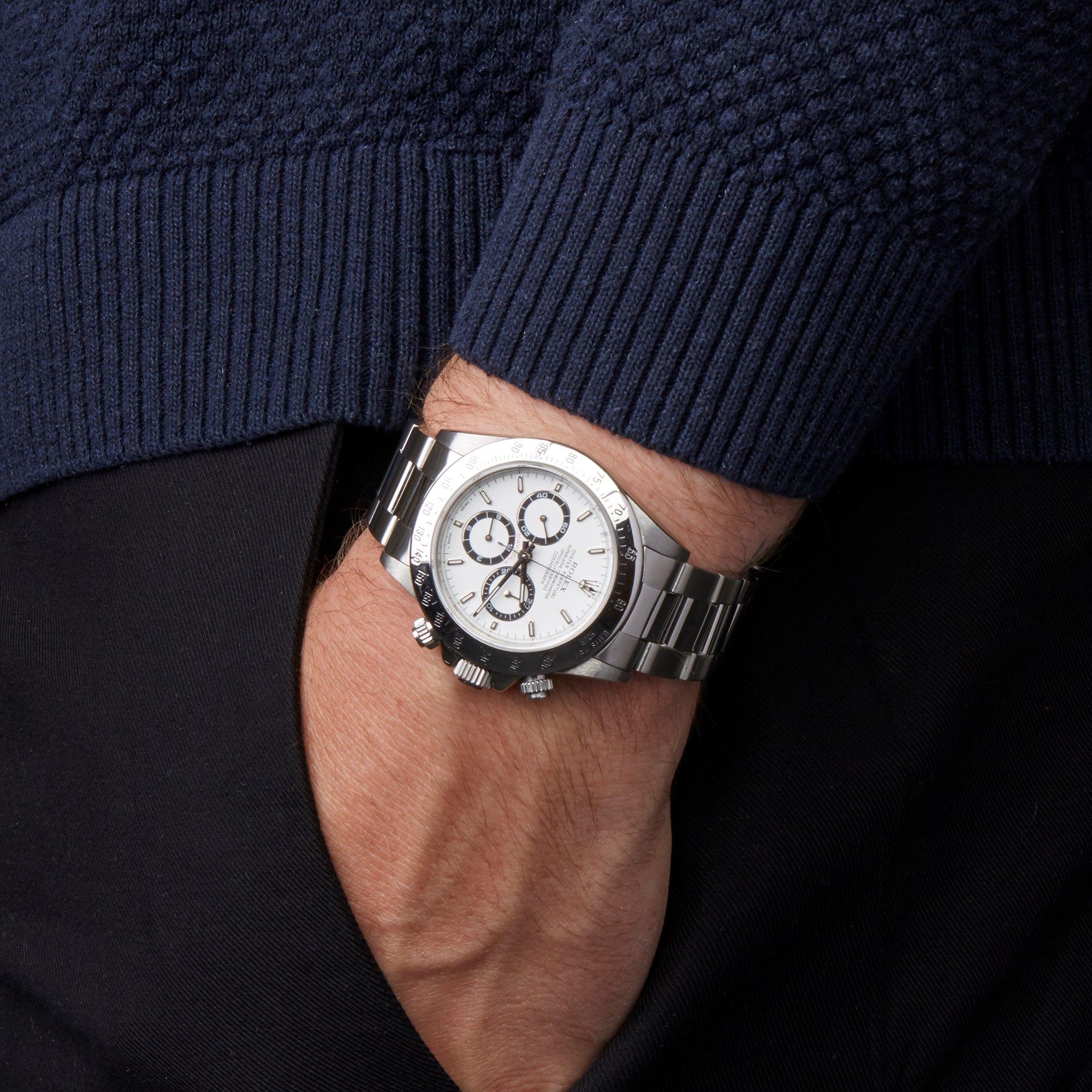 Rolex Daytona Zenith Chronograph Stainless Steel 16520