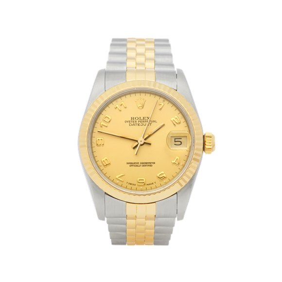 Rolex DateJust 31 Stainless Steel & Yellow Gold - 68273