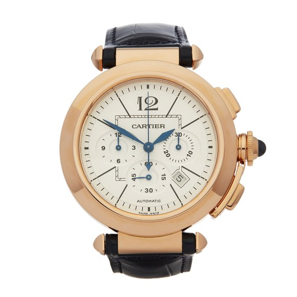 Cartier Pasha de Cartier Chronograph 18K Rose Gold - W3019951 or 2863