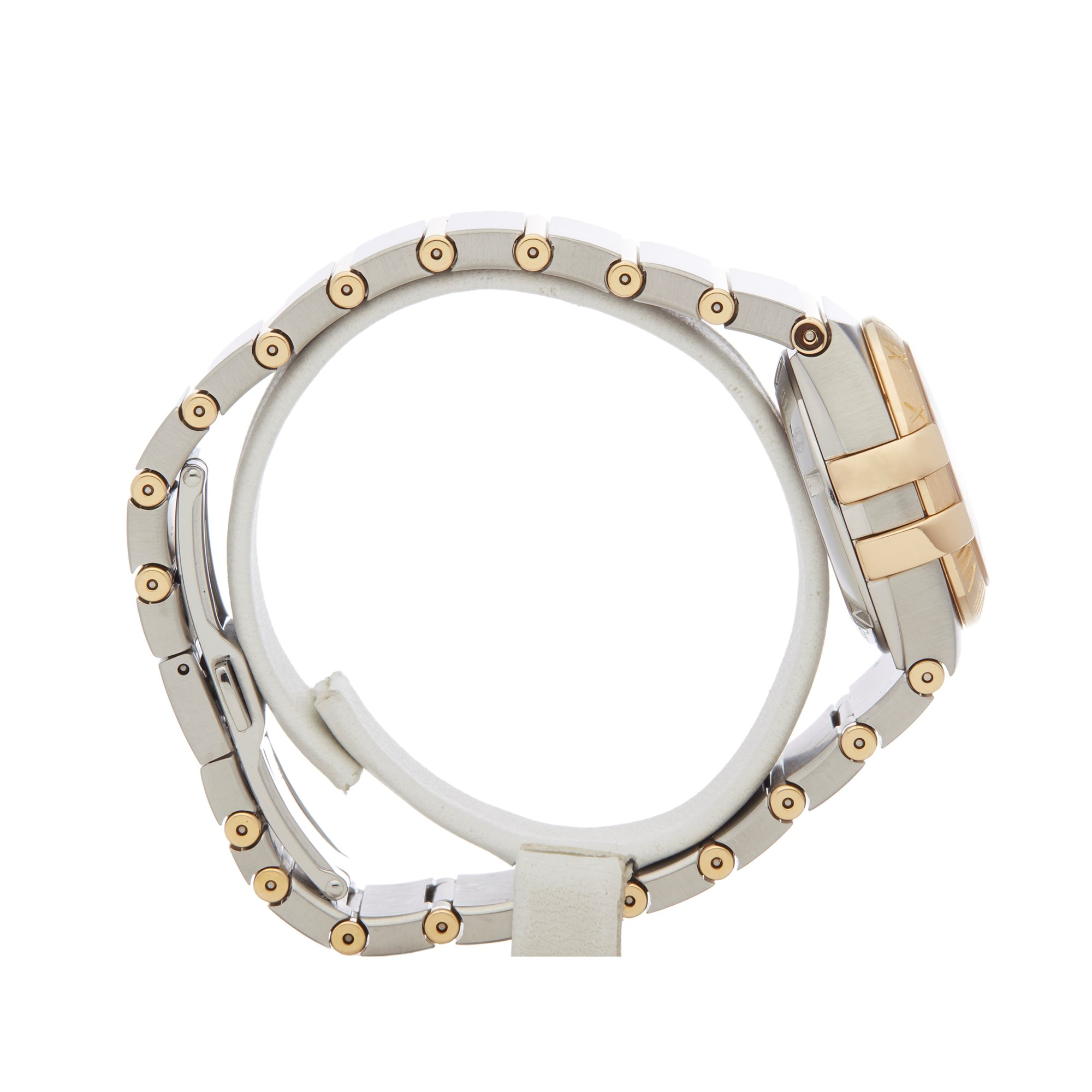 Omega Constellation Diamond Stainless Steel & Yellow Gold 123.20.27.20.57.002