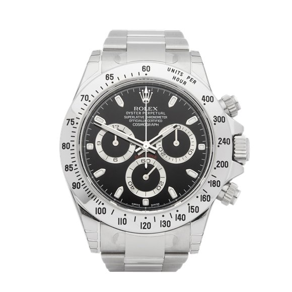 Rolex Daytona APH Chronograph Stickered NOS Stainless Steel - 116520