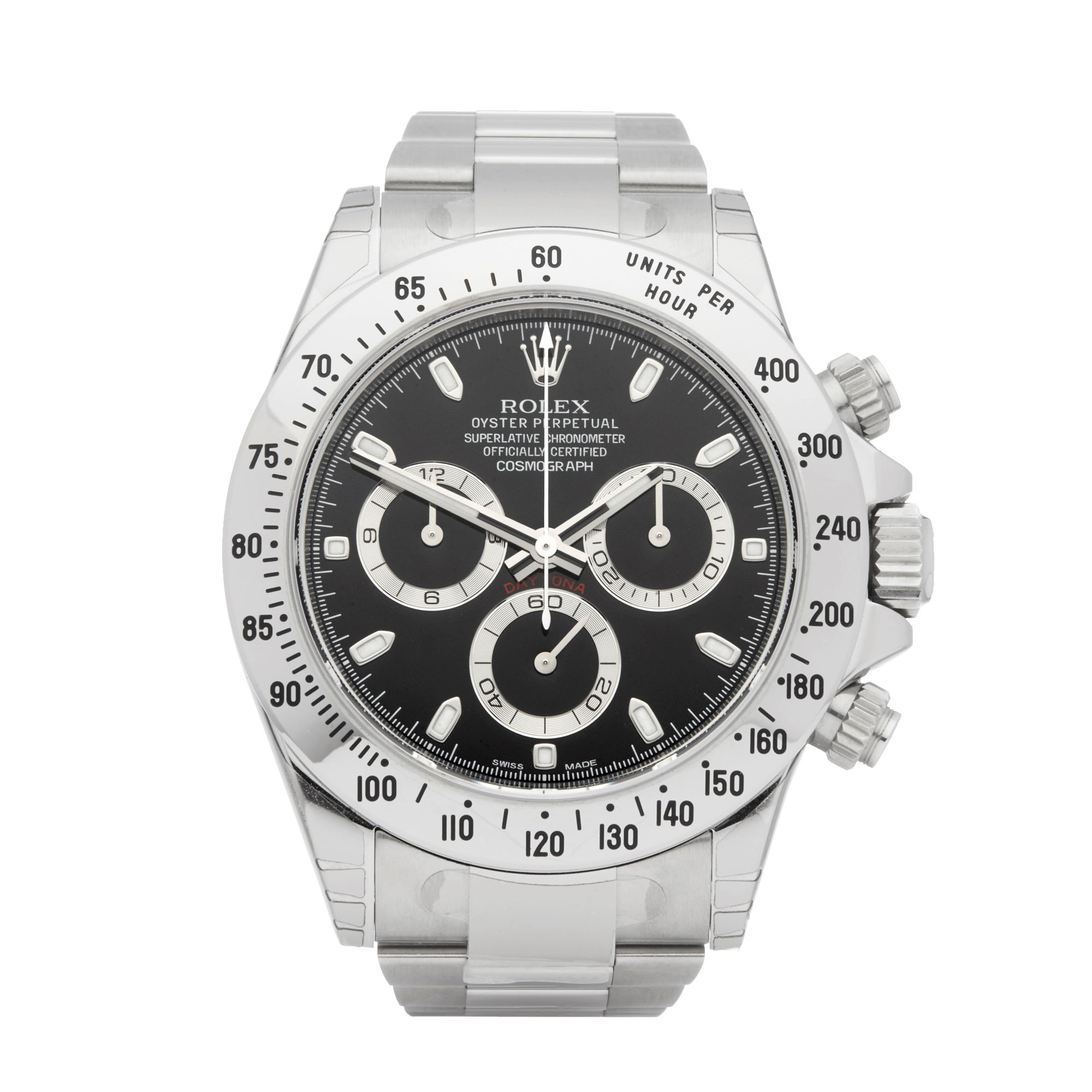 Rolex Daytona APH Chronograph Stickered NOS Stainless Steel 116520