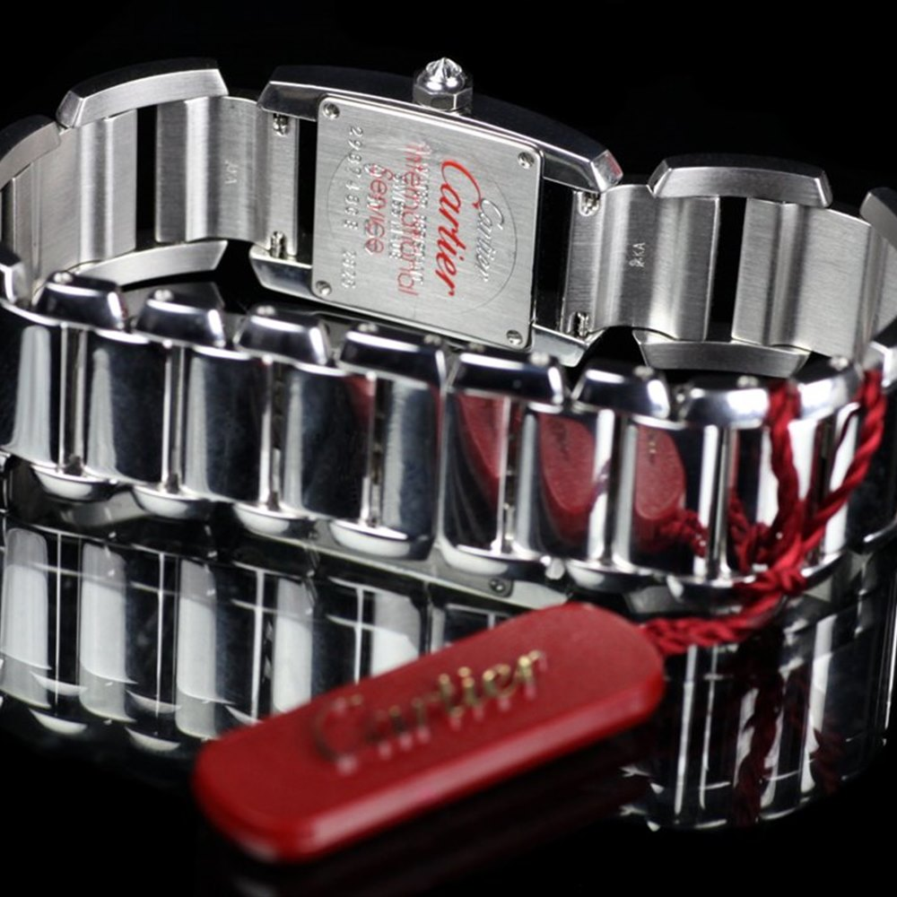 Cartier Tankissime 18k White Gold WE70039H