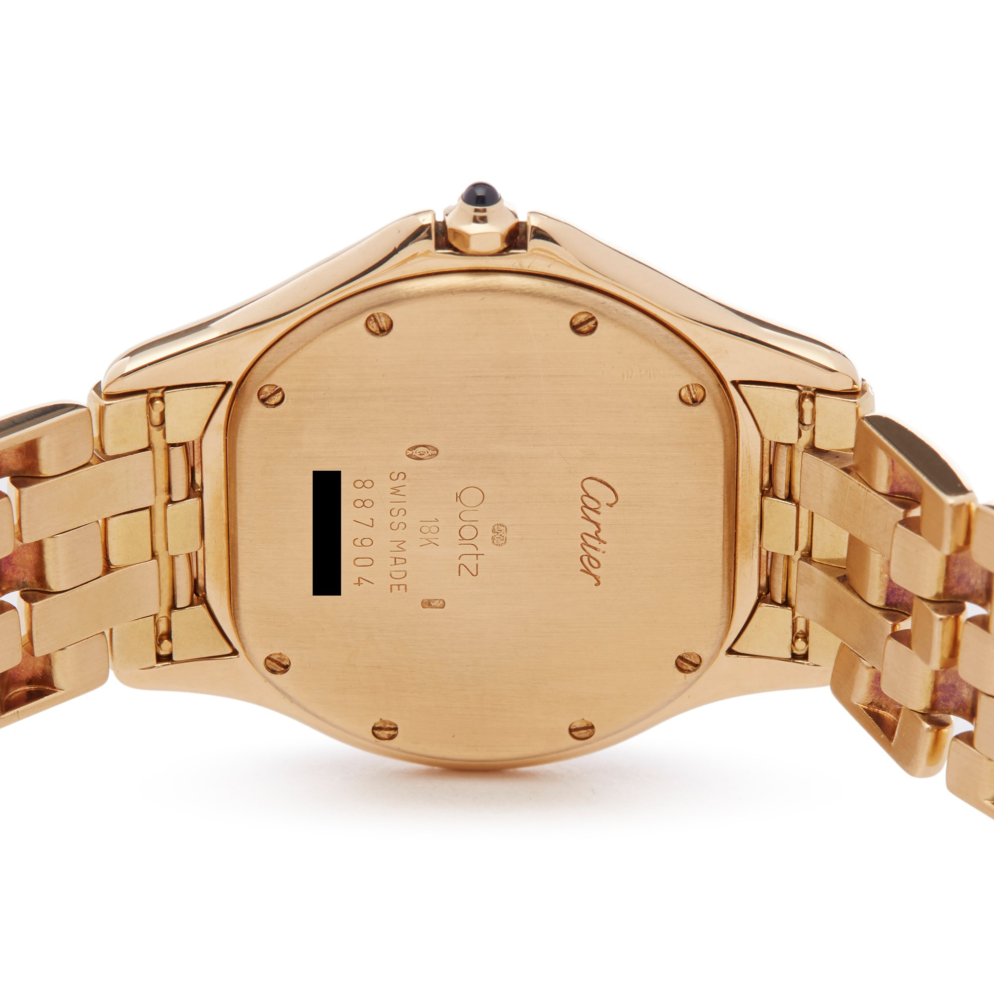 Cartier Cougar 18K Yellow Gold W25013B9 or 1160