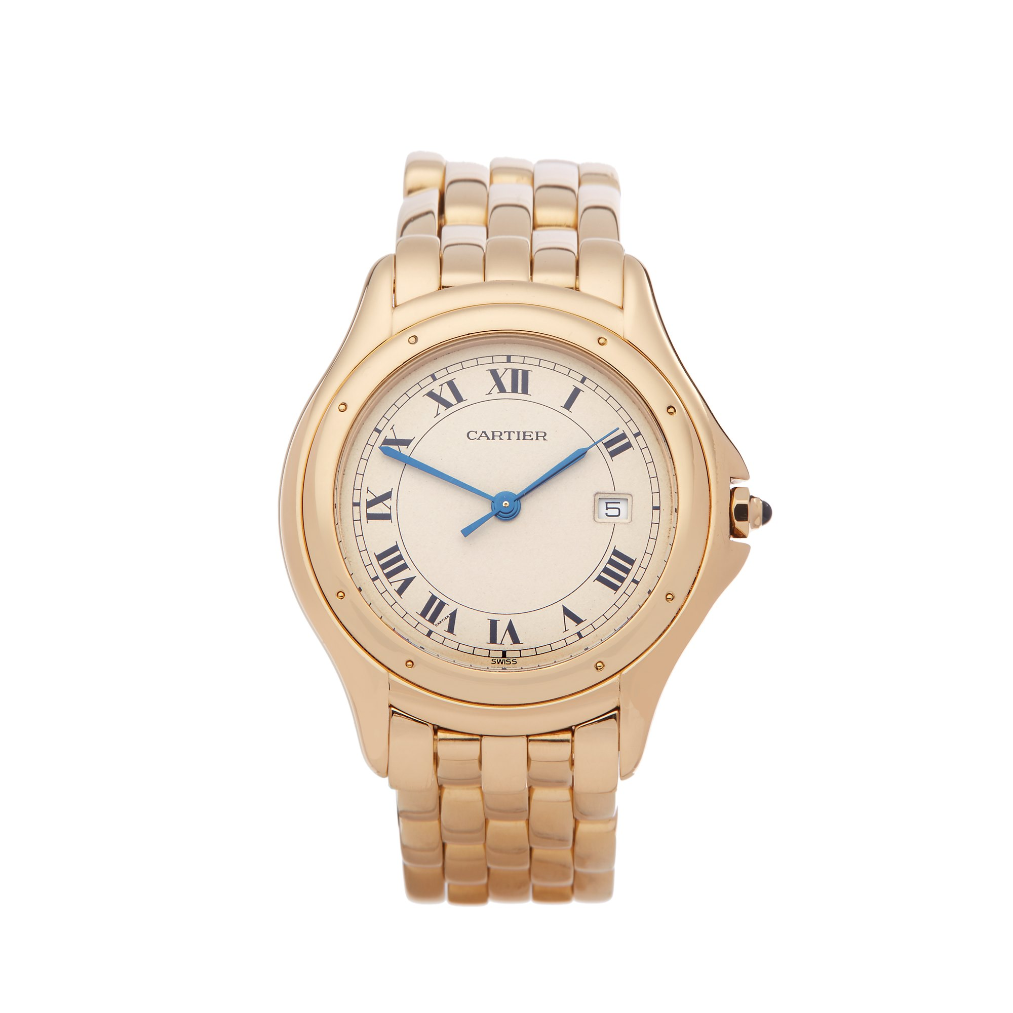 Cartier Cougar 18k Yellow Gold W35019L3 or 1165