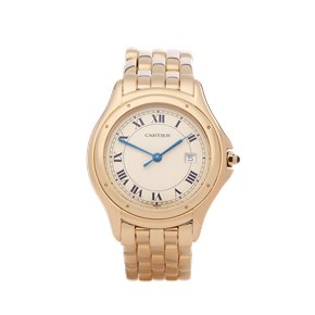 Cartier Cougar 18K Yellow Gold - W25013B9 or 1160