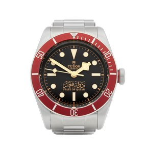 Tudor Black Bay State Of Qatar -  Ltd of 75 Pieces Stainless Steel - 79230R