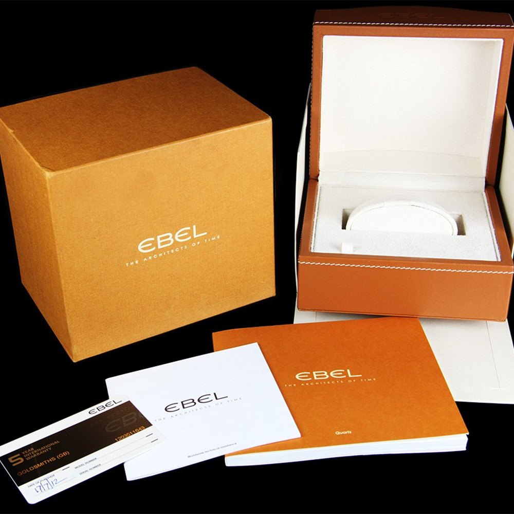Ebel Classic Wave Stainless Steel 9157F11