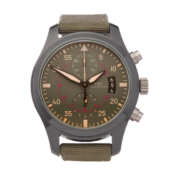 IWC Pilot's Chronograph Top Gun Miramar Chronograph Ceramic - IW388002