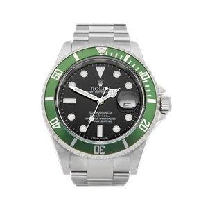 Rolex Submariner Date Nos Kermit Stainless Steel - 16610LV