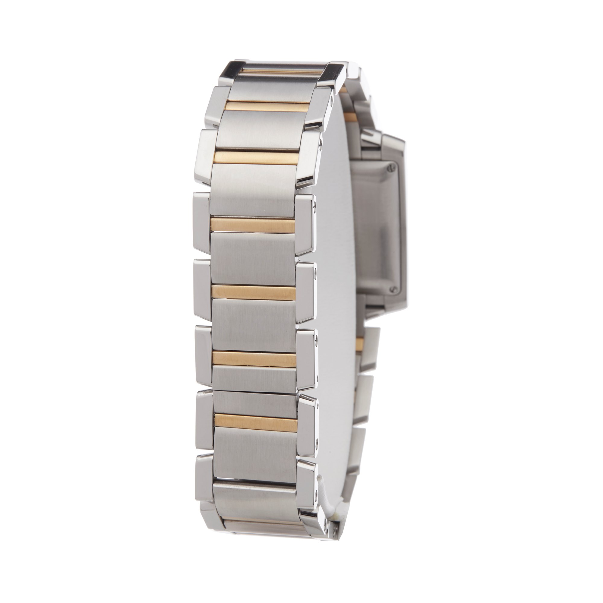 Cartier Tank Francaise Stainless Steel & Yellow Gold 2302