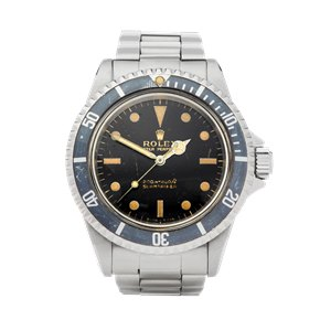 Rolex Submariner No Date Gilt Gloss Meters First Stainless Steel - 5513