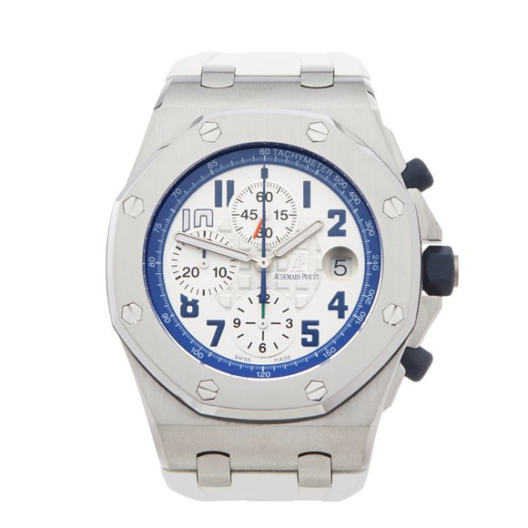 Audemars Piguet Royal Oak Offshore Sachin Tendulkar Chronograph Stainless Steel - 26182ST.OO.D018CR.01