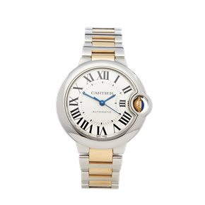 Cartier Ballon Bleu Stainless Steel & Yellow Gold - W2BB0002 or 3489