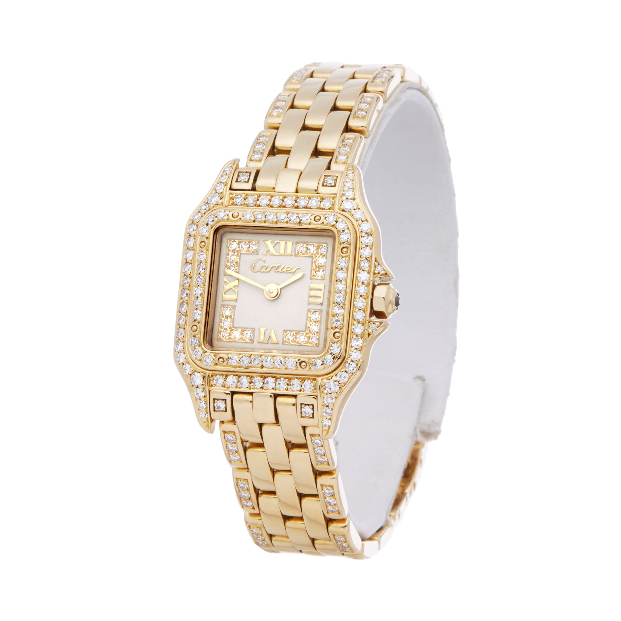 Cartier Panthère Diamond 18k Yellow Gold WF3010FE or 1280