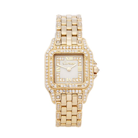 Cartier Panthère Diamond 18k Yellow Gold - WF3010FE or 1280