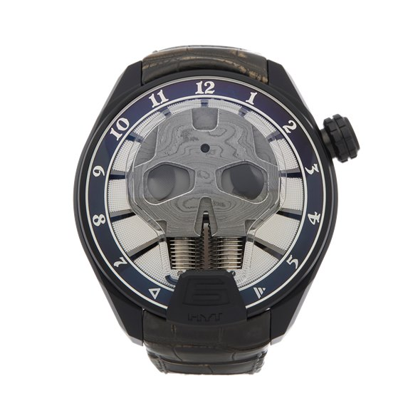 HYT H1 Skull Bad Boy Dlc Coated Titanium - 151-DL-43-NF-AS